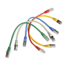 5er-Pack LAN-/Patch-Kabel. farbmix.Cat.5e. 25cm